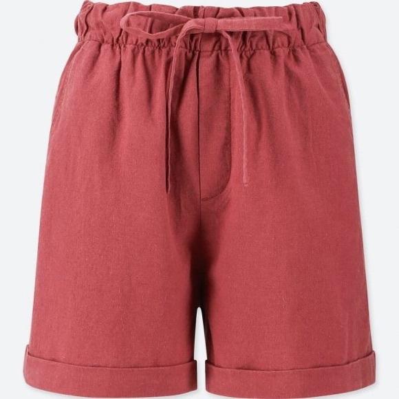 Uniqlo Pants - Uniqlo Relaxed Linen Shorts